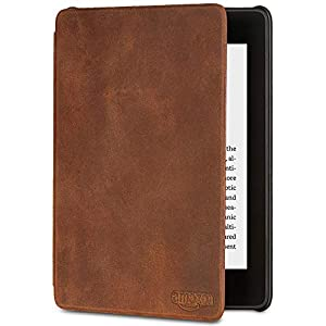 Amazon Kindle Paperwhite Premium Leather Cover   10th Generation—2018 Release
