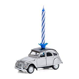 corpus delicti :: Kerze auf Rädern - Citroën 2CV (Silber)