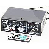 Mini Amplifier USB, MP3, Bluetooth, Remote Control