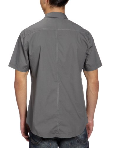 MEXX Herren Freizeithemd H5RE4814 Grau (310)