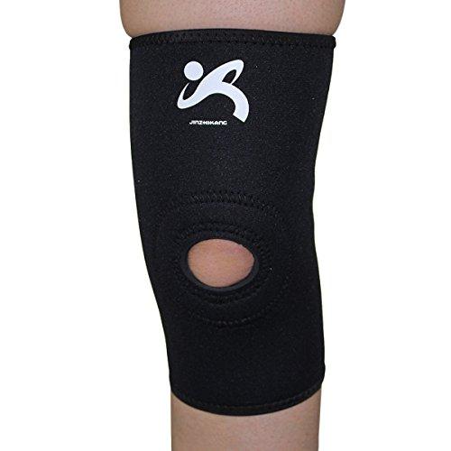 SANJIN rotonda Pad ginocchiera - Supporto manica e compressione per