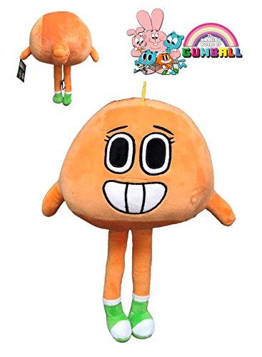 GMBALL Die Fantastische Welt von Gumball - Plüsch Darwin Persönlichkeit orange 12