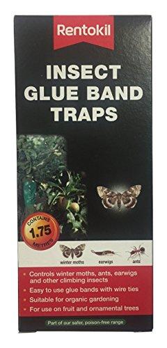 Rentokil Fig01 Insectes Colle pièges à Bande - Noir