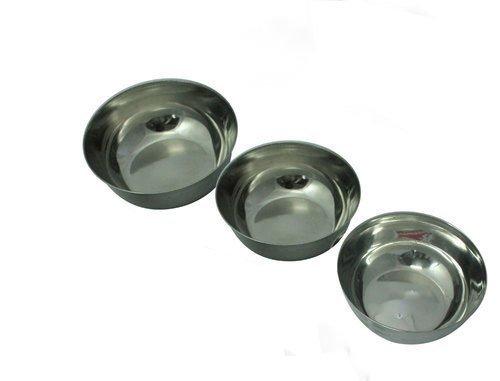 Frauen 'S DAY Geschenk, Edelstahl Schalen Set (3Stück), Edelstahl Schalen Set von 3Für Kochen, Backen, Lebensmittelzubereitung. Poliert Spiegel Finish in Größen beliebtesten Verwendung für -