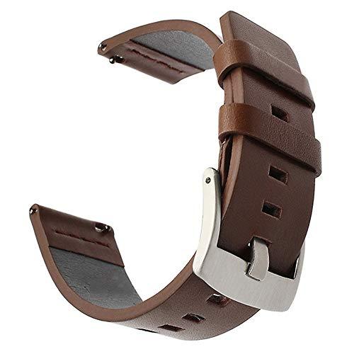 Italien Uhrenarmbänder Oil Leather Watchband für Armbanduhrfalle Herren Genitalsit-Watchstrap-Lins2236 Damenuhr Band Schnellverschluss Armband Handgelenk 18mm 20mm 22mm 24mm
