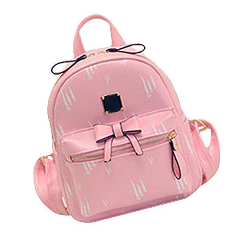 tellw-filles-kids-sac-a-dos-sac-de-transport-enfants-de-dos-rose-rose-231328cm
