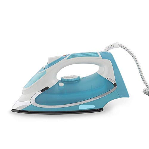 Unique Sales Steam Iron - 1600 Watts - Sea Blue with Self Clean, Anti Drip, Anti Calc Technology (Color May Vary As Availability)