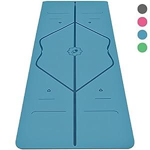 Liforme Yogamatte – Die Weltweit Beste Umweltfreundliche, rutschfeste Yoga Matte Mit Dem Originalen Einzigartigen Ausrichtungsmarkierungssystem – Biologisch Abbaubare Matte