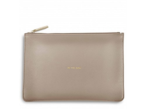 Katie Loxton - Perfect Pouch - 'In the Bag' - Oyster Grey