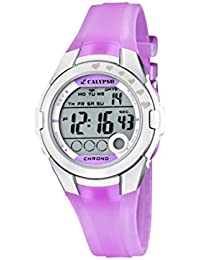 Calypso - K5571/3 - Montre Fille - Quartz Digitale - Eclairage / Chronomètre - Bracelet Plastique Rose