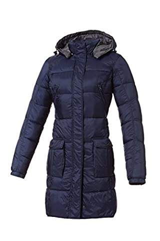 Tucano urbano 8888B3 lAURA women's-respirant-ultra light and water repellent 3/4 length down jacket-veste-homme-bleu-taille s