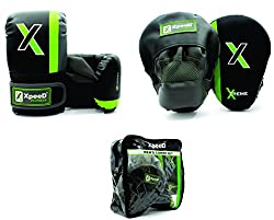 Combo Set of Punching Pads With Gloves