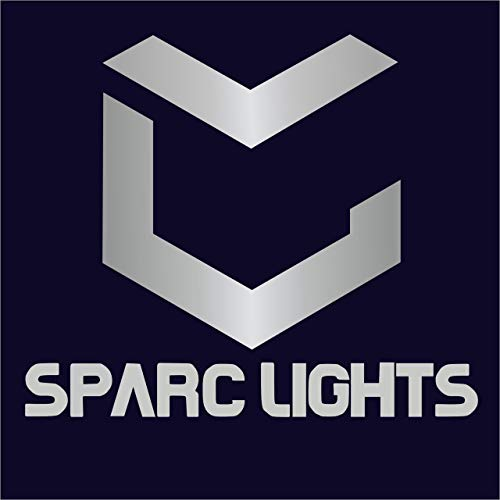 SparC LightS 3W Led Outdoor Exterior Wall Step Up Down Light IP65,Fixture Lamp Black Finish Long Warm White-UPDN-WL-HK-2
