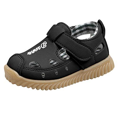 Geschlossene Sandalen Jungen Rutschfest Sommer Sandale Strand Sandalen Sneaker Brief Casual Einzelne Schuhe Turnschuh - Dockside Casual Schuhe