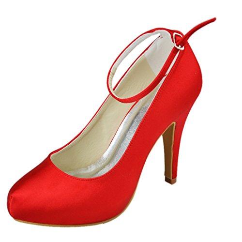 Minitoo , Escarpins pour femme Red-10cm Heel