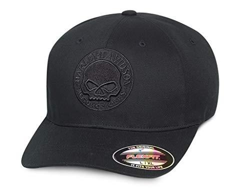 HARLEY-DAVIDSON Cap Skull Stretch, S - Stretch-skull-cap