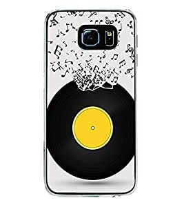 Music Record 2D Hard Polycarbonate Designer Back Case Cover for Samsung Galaxy S6 G920I :: Samsung Galaxy G9200 G9208 G9208/SS G9209 G920A G920F G920FD G920S G920T