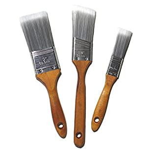 Babo-Tools Pinselset - Flachpinsel, 3 Stück, Profipinsel mit Kunststoffborsten. 1