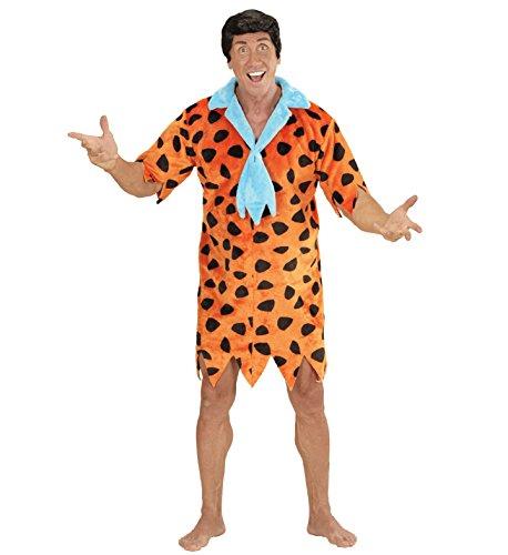 Feuerstein Fred Kostüm (Widmann 05803 - Erwachsenenkostüm Stoneage Man, Tunika mit)