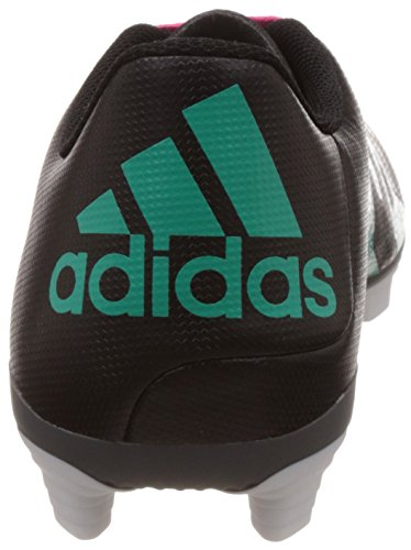 adidas X 15.4 Fxg, Chaussures de Football Homme, 45 1/3 EU Noir - Schwarz (Core Black/Shock Mint S16/Ftwr White)