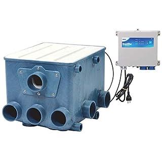 AquaForte Trommelfilter inkl. weißem Deckel und Kontroller