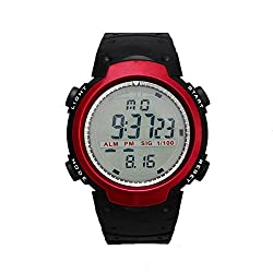 COSMIC BLACK Sports Digital Watch with Stopwatch , Alarm - Black Dial - For Men and Boys