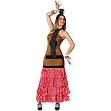 Atosa - Disfraz de sevillana para mujer, talla 38-40 (8422259155911)