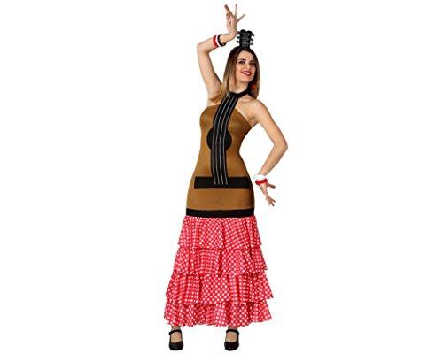 Imagen de atosa  disfraz de sevillana para mujer, talla 38 40 8422259155911