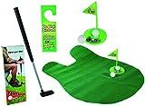 Toilet Golf Set for Bathroom - 6 Pieces