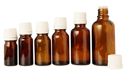 15 ml bouteilles de sérum verre ambré euro-gouttes gros boston falsification évidente ronde des bouteilles à bouchon beaucoup d'huile d'aromathérapie de 6 bouteille vide