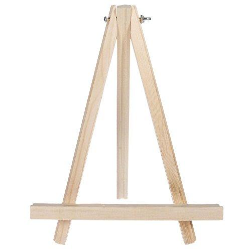 ssguer9tragbar Holz Stativ Tabletop Display Staffelei für Skizzieren Gemälde kleinen Künstler Staffelei Phase 22,9cm (Tabletop-foto-staffelei)
