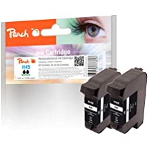 Peach Twin Pack black, compatible with Kodak, HP, Apple 51645A, No. 45