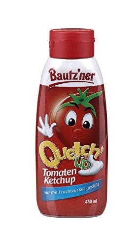 BAUTZ'NER Quetch'Up Tomaten Ketchup, 8er Pack (8 x 450 ml)