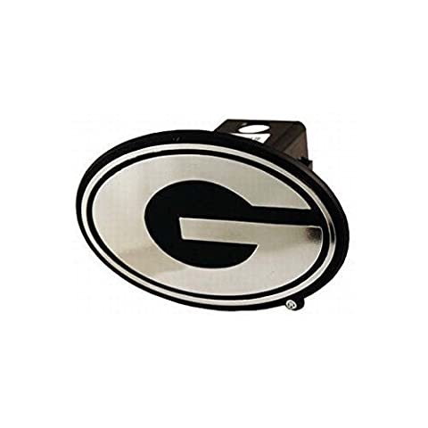 NCAA Georgia Bulldogs Car Trailer Hitch Cover by Gameday Outfitters