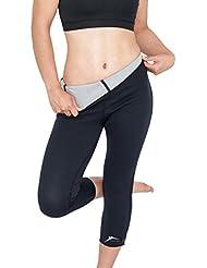 Delfin Spa Fitness Capri-Hose mit Wärme-Effekt (Schwitzhose) - aus Neopren mit Biokeramik Fasern