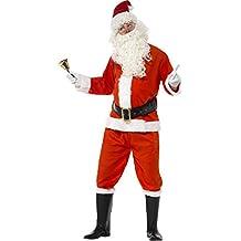 Smiffys - Disfraz de Papá Noel para hombre