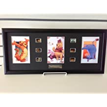 Disney Winnie The Pooh and Friends Framed Film Cell Trio Hollywood Animation Memorabilia Eeyore Tigger