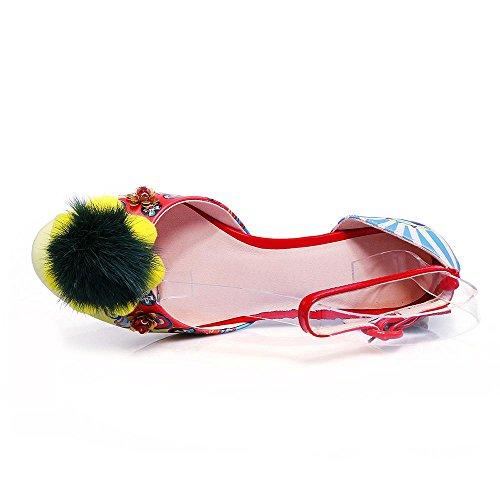GJDE Da donna Sandali,Matrimonio Formale Serata e festa-Comoda Innovativo Club Shoes b