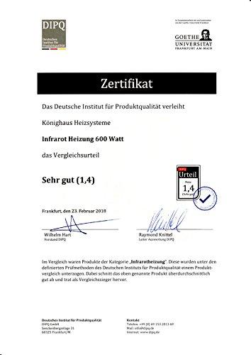 Infrarot Heizung / 600 Watt - 2