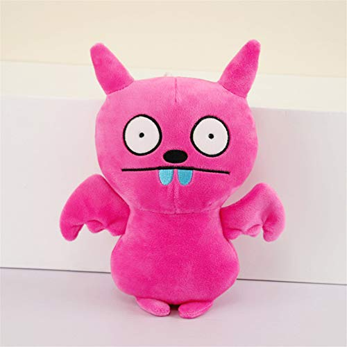 Kleine Monster Puppe Dekoration Weiche Haarkissen Kreatives Geschenk 28 cm Rosa ()