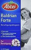 Abtei 0270076 Baldrian Forte Beruhigungs, 30 Dragees, 50 g