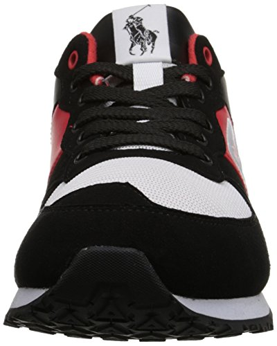 Nombre Polo Ralph Lauren Slaton Fashion Sneaker Black/White