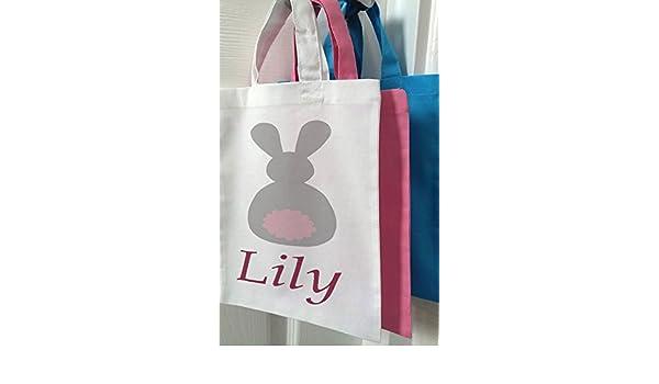 Girls tote bag mini shopper easter bag easter gifts girls bags girls tote bag mini shopper easter bag easter gifts girls bags bunny pink amazon kitchen home negle Gallery