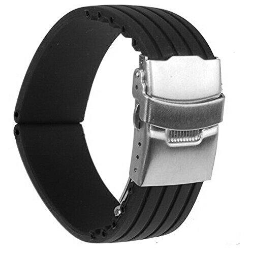 foxnovo-strisce-impermeabili-modello-silicone-watch-band-cinturino-con-fibbia-di-chiusura-in-acciaio