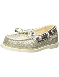 OshKosh B'Gosh Kids' Georgie Girl's Glitter Boat Shoe