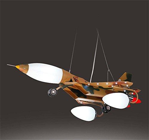 MEHE HOME- Tarnung Kreative Flugzeug Schlafzimmer junge kind Raum Pendelleuchte