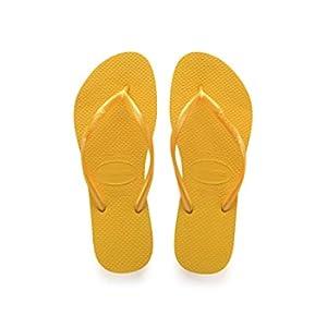 Havaianas Slim 4000030, Infradito Donna, Giallo (Banana Yellow), 39/40 EU