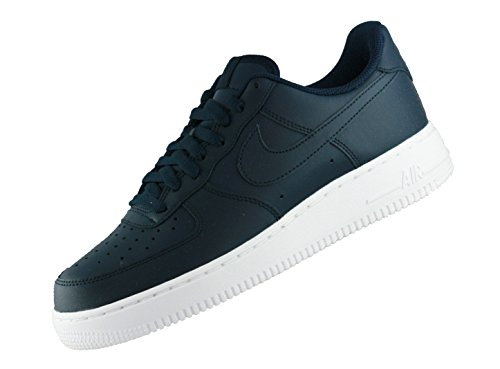Nike Herren Air Force 1 07 Gymnastikschuhe, Grau (Obsidianobsidianwhite 400), 41 EU (Nike High Heels Sneakers)