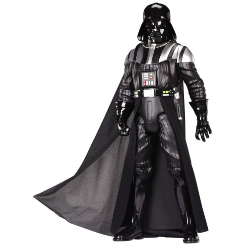 Star Wars - Figura Darth Vader de 50 cm, color negro (Jakks Pacific 71464-EU-PLY)
