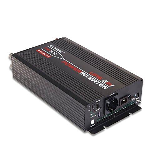 ECTIVE TMI Sinus Wechselrichter | 48V zu 230 V | 4 Varianten: 1500W - 3000W | Spannungswandler / Power Inverter